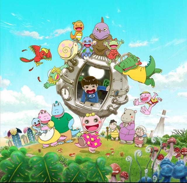 テレビアニメ『がん がん がんこちゃん』がBSプレミアムで放送!